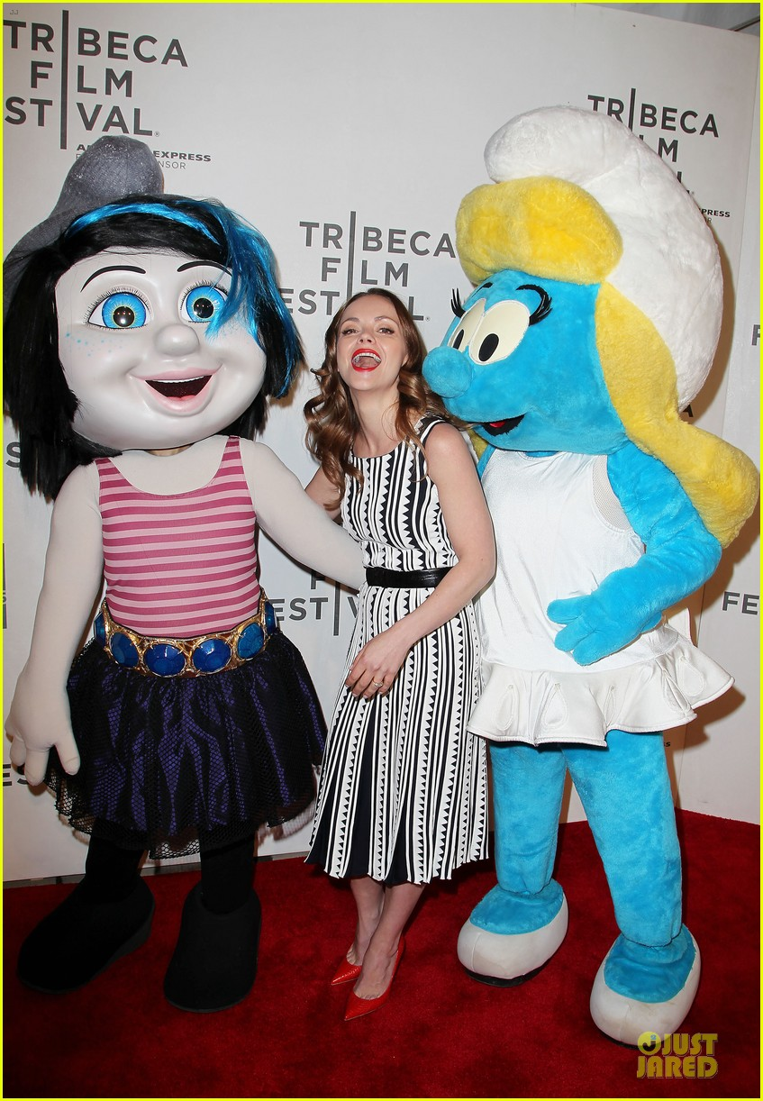 christina ricci the smurfs tribeca screening 212859410