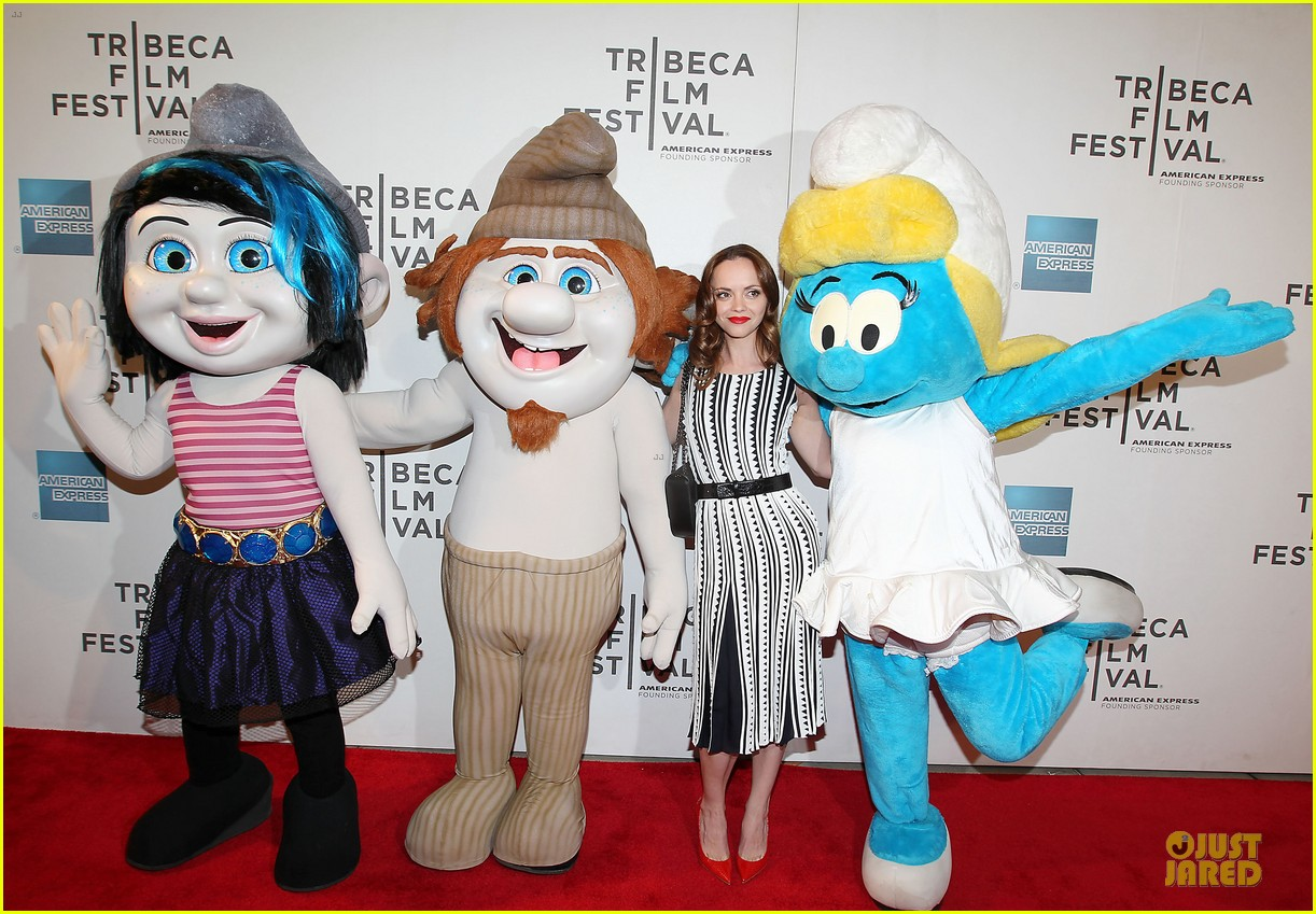 christina ricci the smurfs tribeca screening 242859413