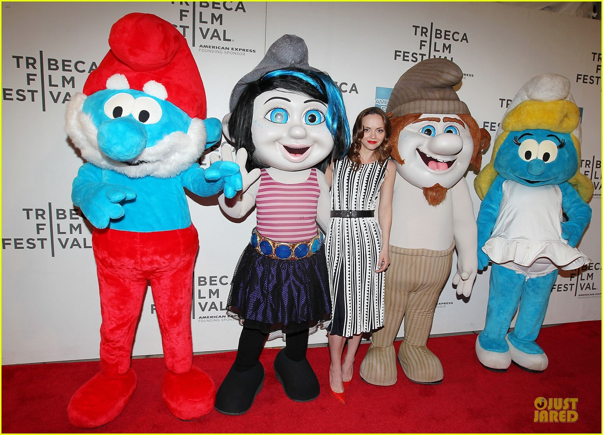 christina ricci the smurfs tribeca screening 272859416