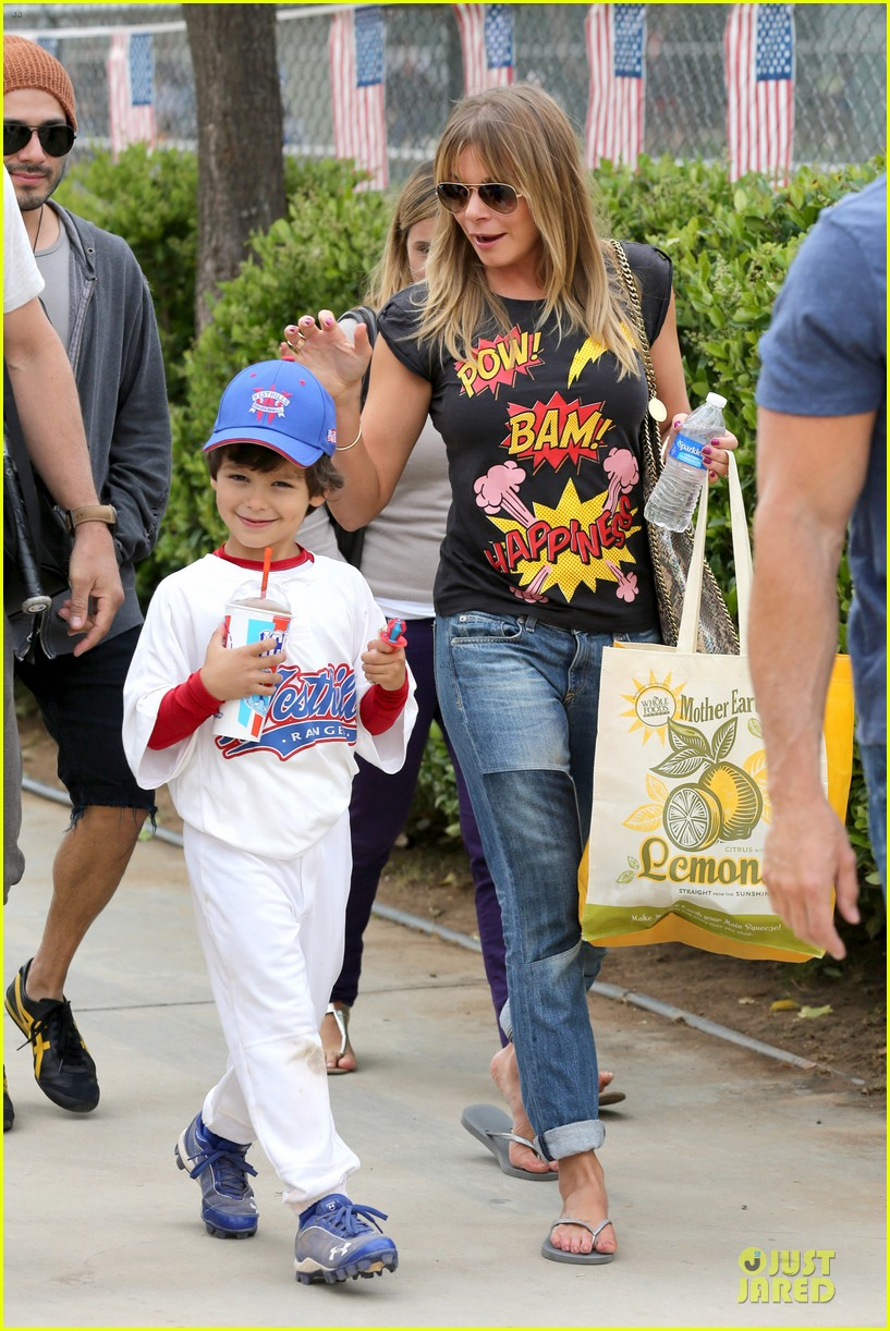 leann rimes eddie cibrian jake baseball game before birthday party 152849583