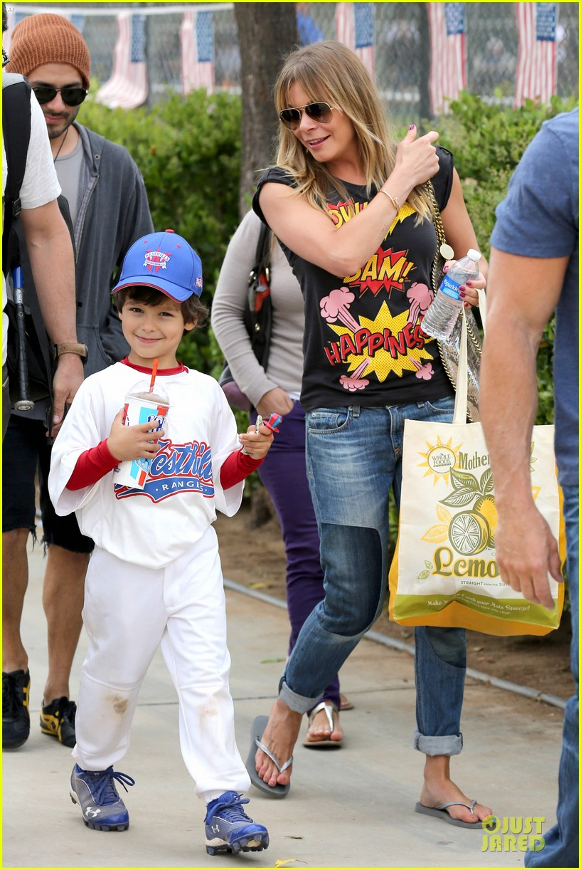 leann rimes eddie cibrian jake baseball game before birthday party 162849584