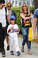 leann rimes eddie cibrian jake baseball game before birthday party 13