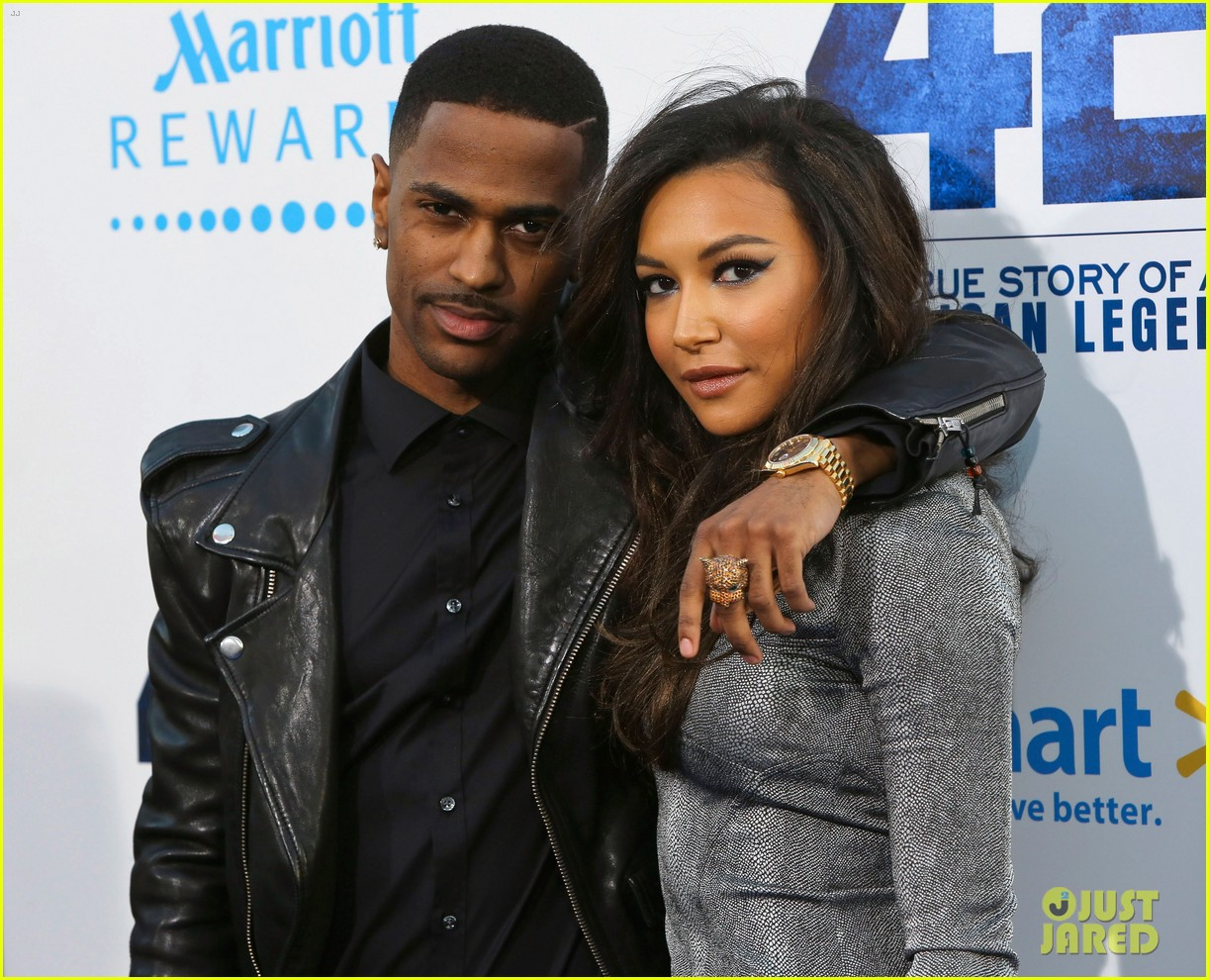 naya rivera big sean red new couple alert 06