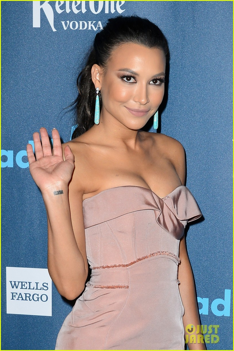 naya rivera darren criss glaad media awards 2013 022854397