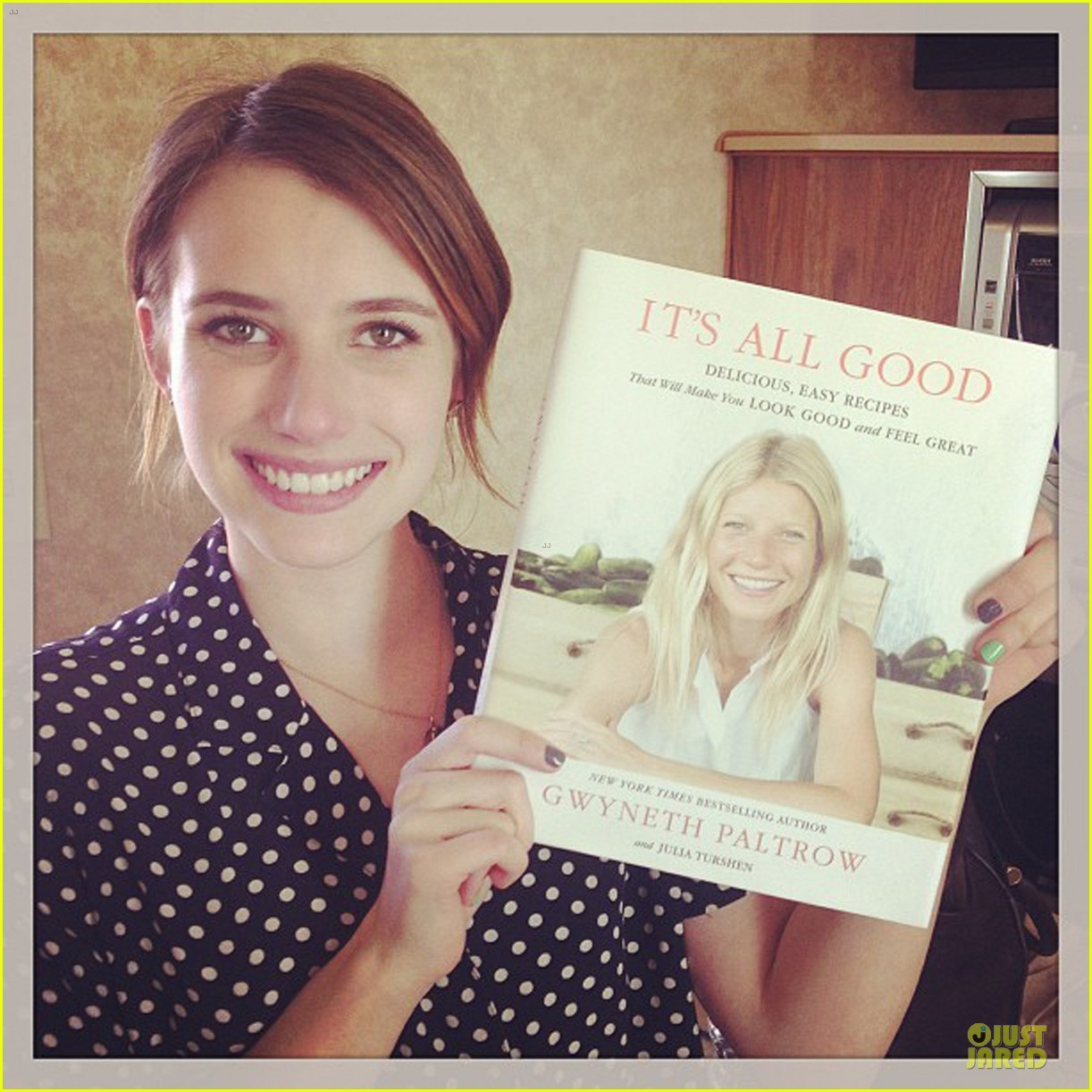 emma roberts i love gwyneth paltrow new book 052846045