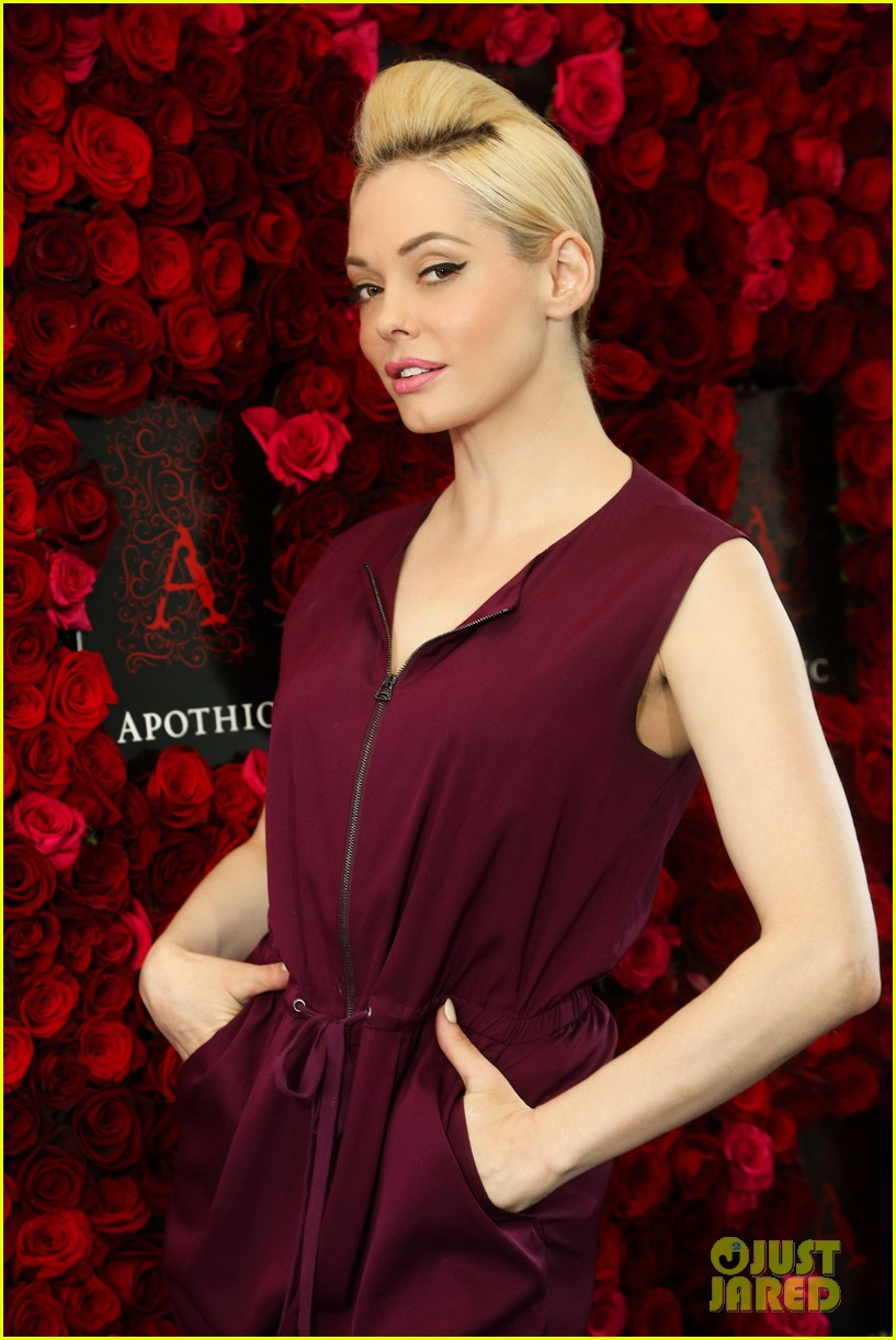 rose mcgowan apothic rose launch in nyc 042857878