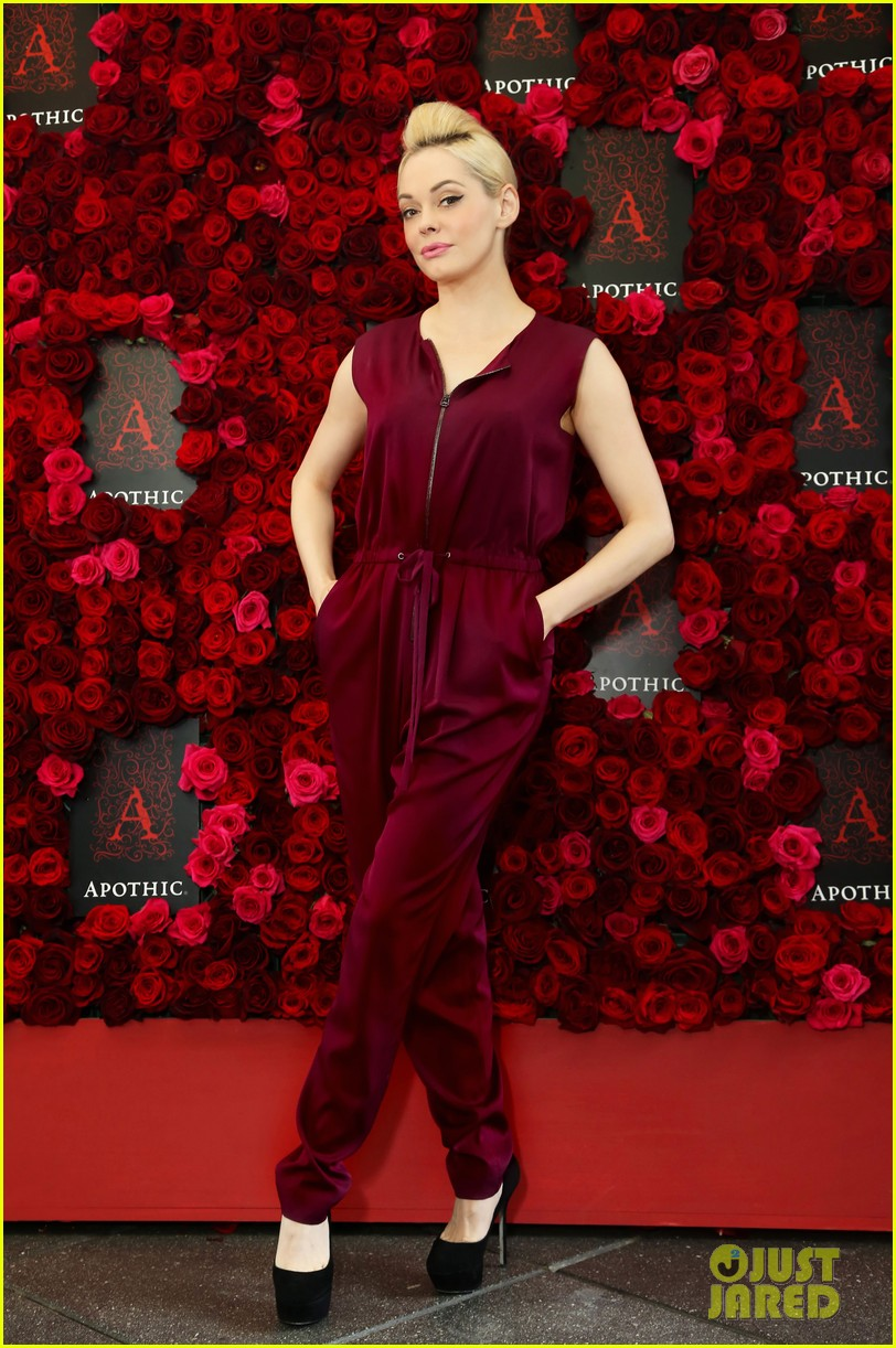 rose mcgowan apothic rose launch in nyc 052857879