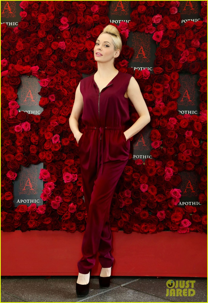 rose mcgowan apothic rose launch in nyc 062857880