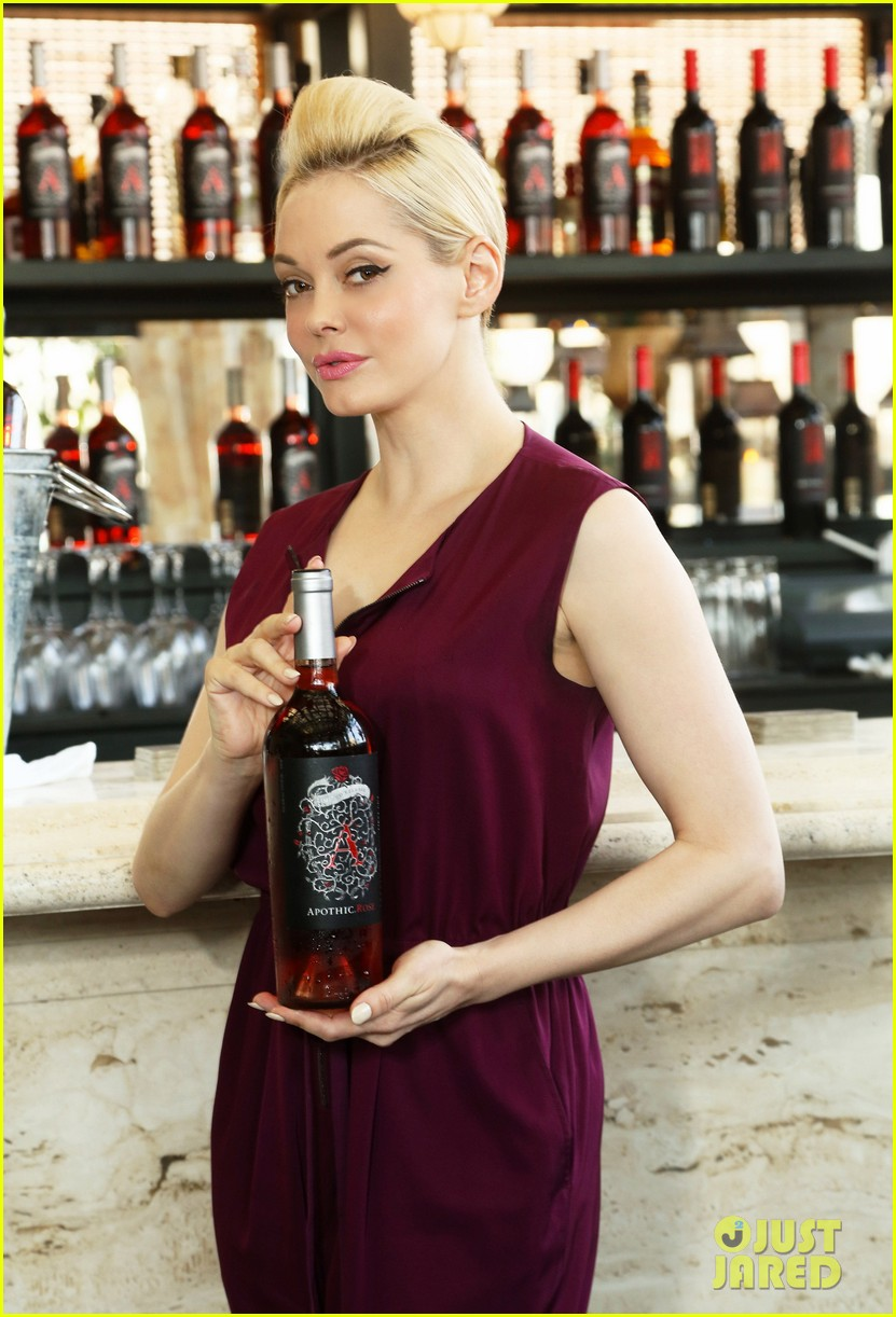 rose mcgowan apothic rose launch in nyc 102857884