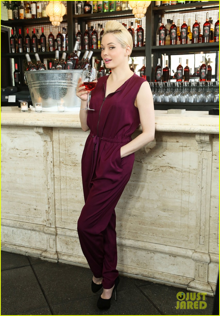 rose mcgowan apothic rose launch in nyc 152857889