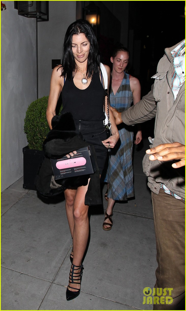 liberty ross spago dinner with jimmy iovine 082846800