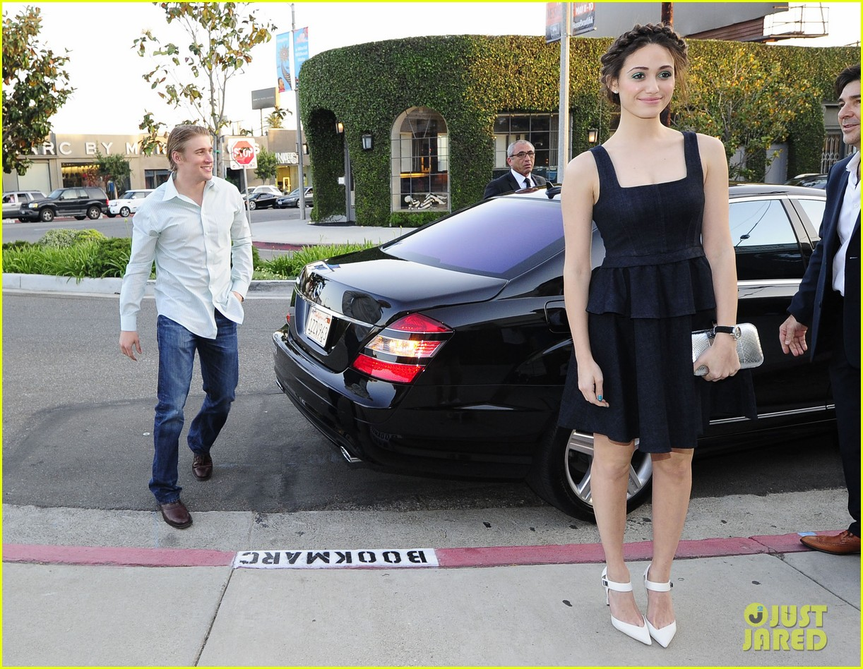 emmy rossum tyler jacob moore projects book party 222860563