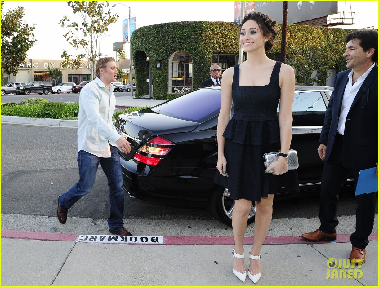 emmy rossum tyler jacob moore projects book party 232860564