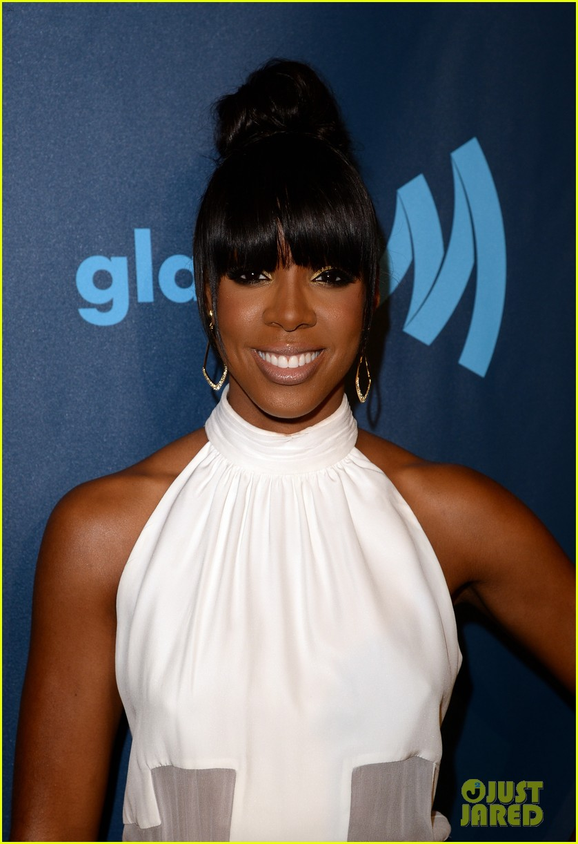 kelly rowland ashley benson glaad media awards 2013 16