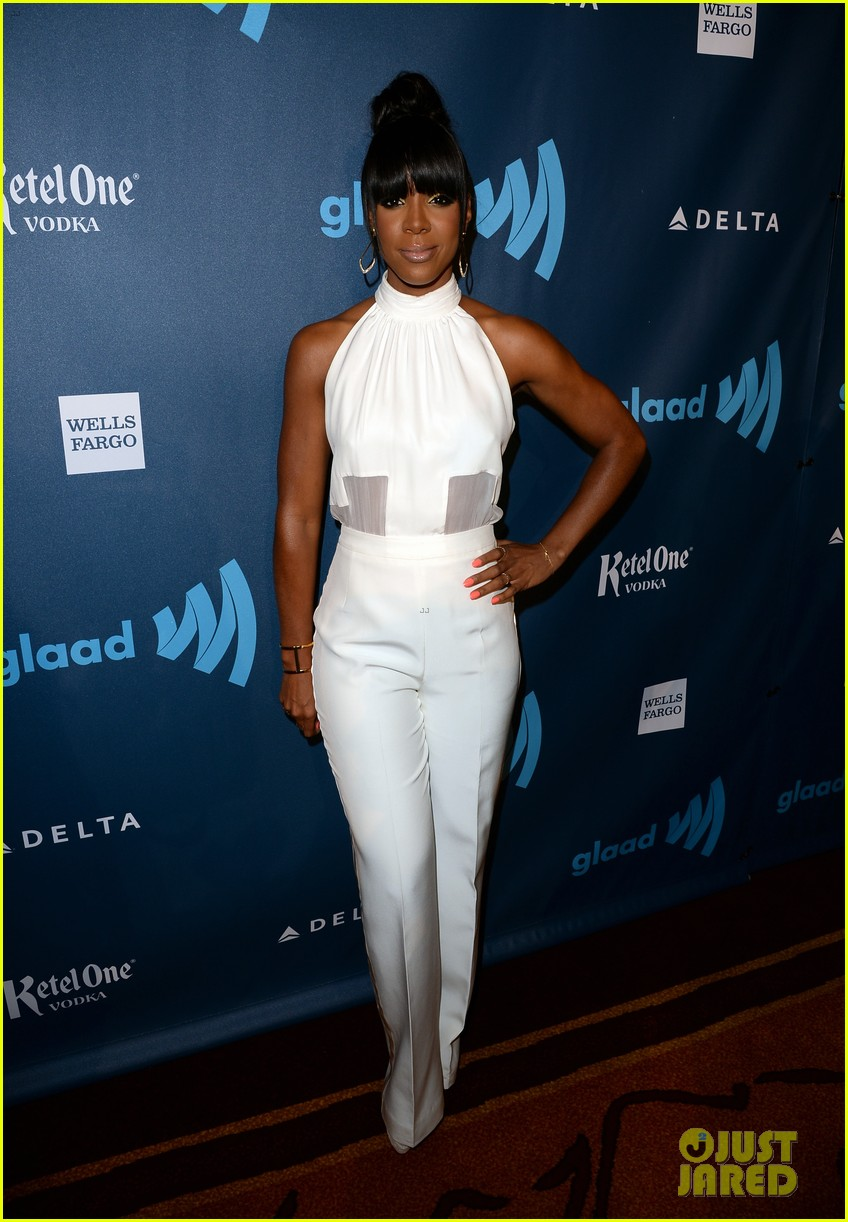 kelly rowland ashley benson glaad media awards 2013 172854638