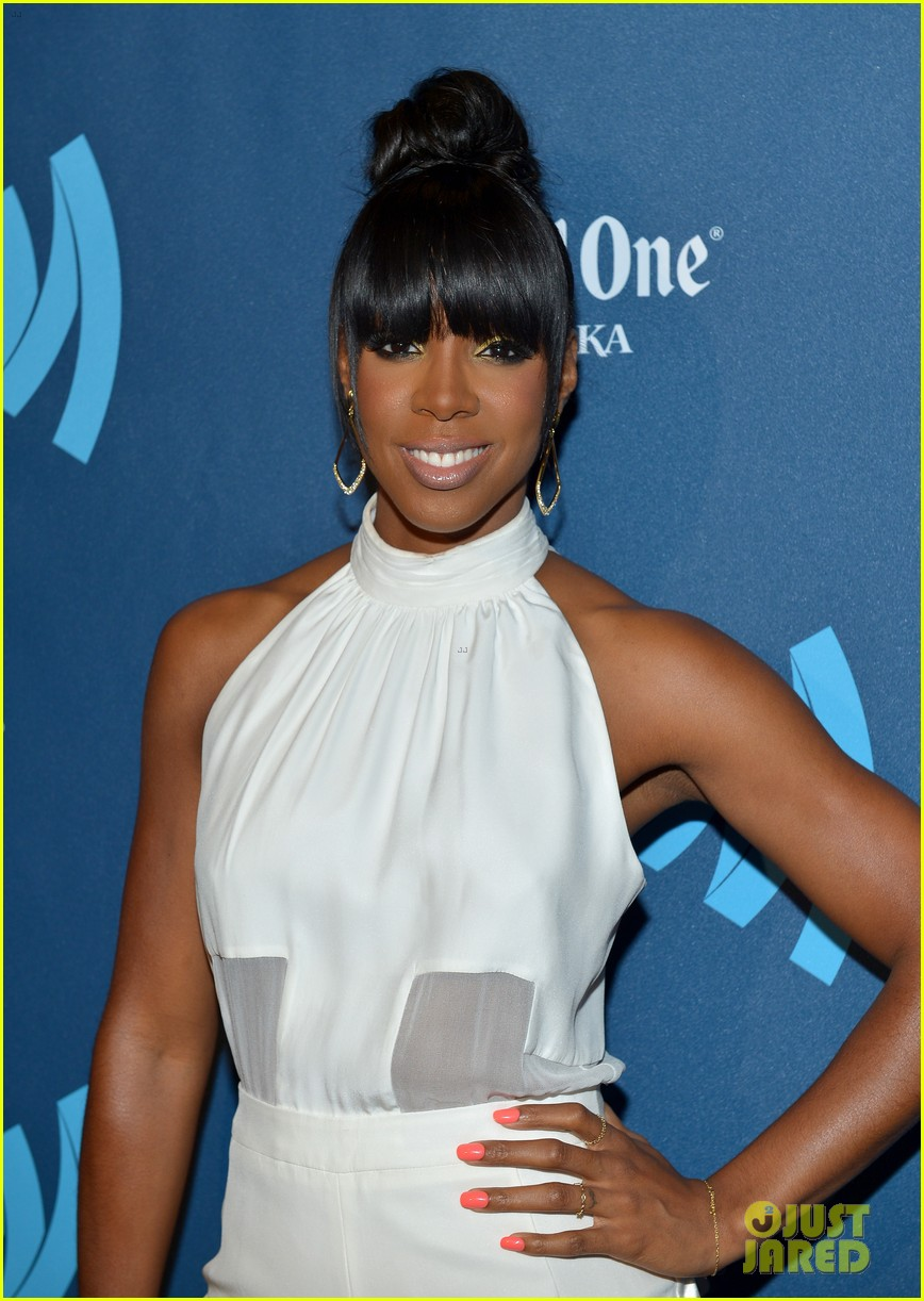 kelly rowland ashley benson glaad media awards 2013 19