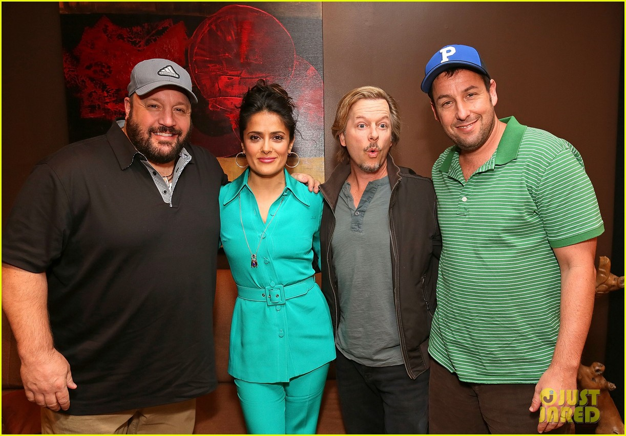 adam sandler salma hayek cinemacon and ellen 022852401