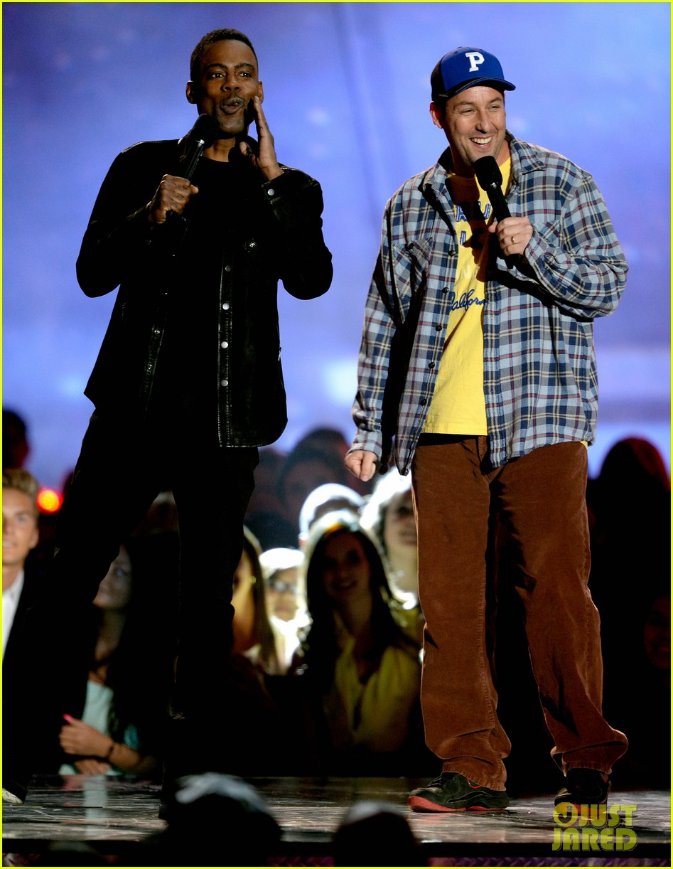 adam sandler chris rock mtv movie awards 2013 012850163