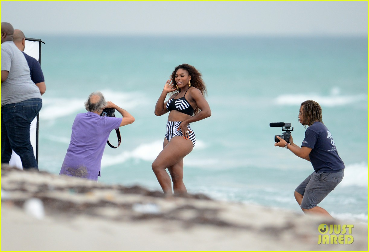 serena williams bikini beach photo shoot 232851346