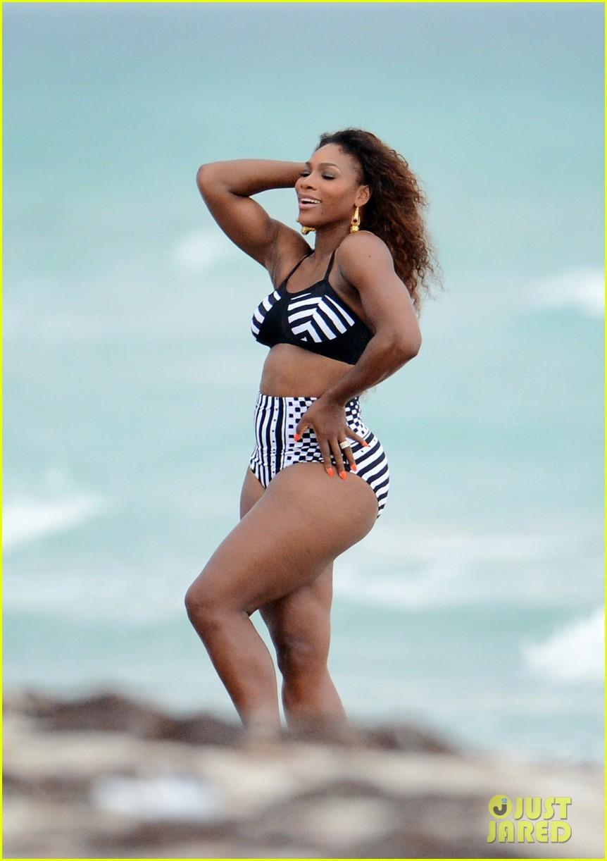 serena williams bikini beach photo shoot 242851347