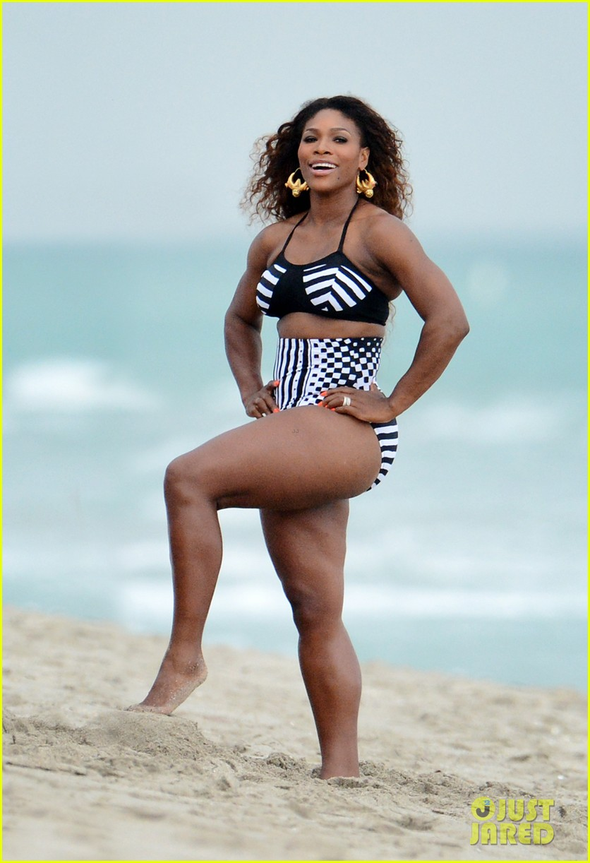 serena williams bikini beach photo shoot 292851352