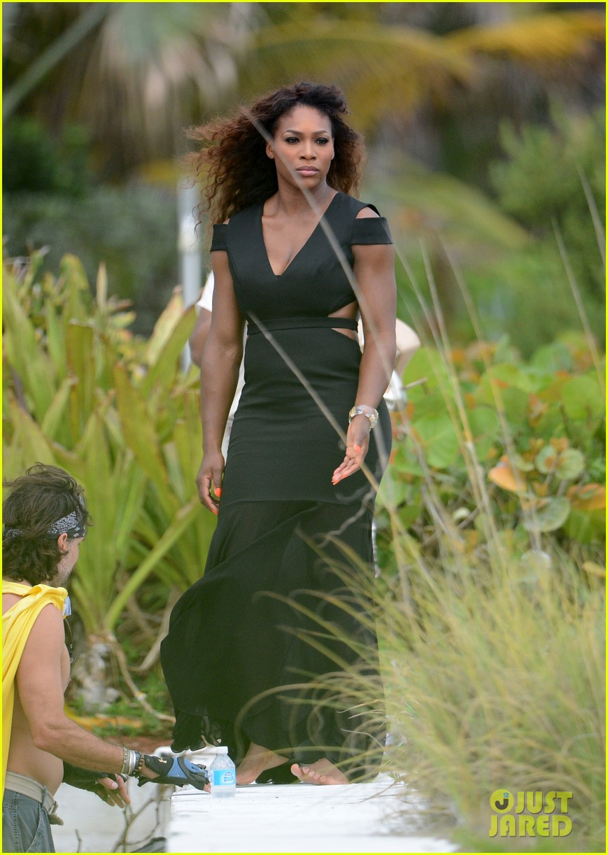 serena williams bikini beach photo shoot 412851364