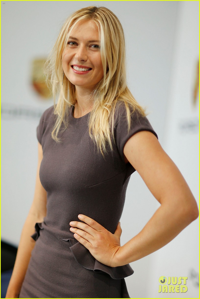 maria sharapova porsche new brand ambassador 022855777