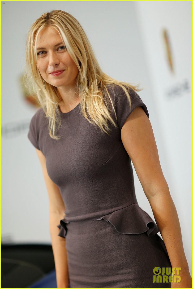 maria sharapova porsche new brand ambassador 06