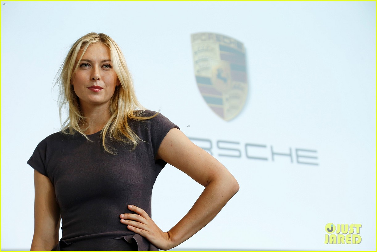 maria sharapova porsche new brand ambassador 122855787