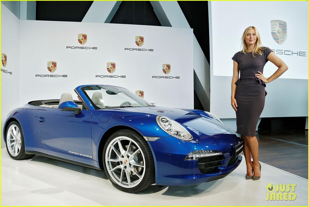 maria sharapova porsche new brand ambassador 132855788