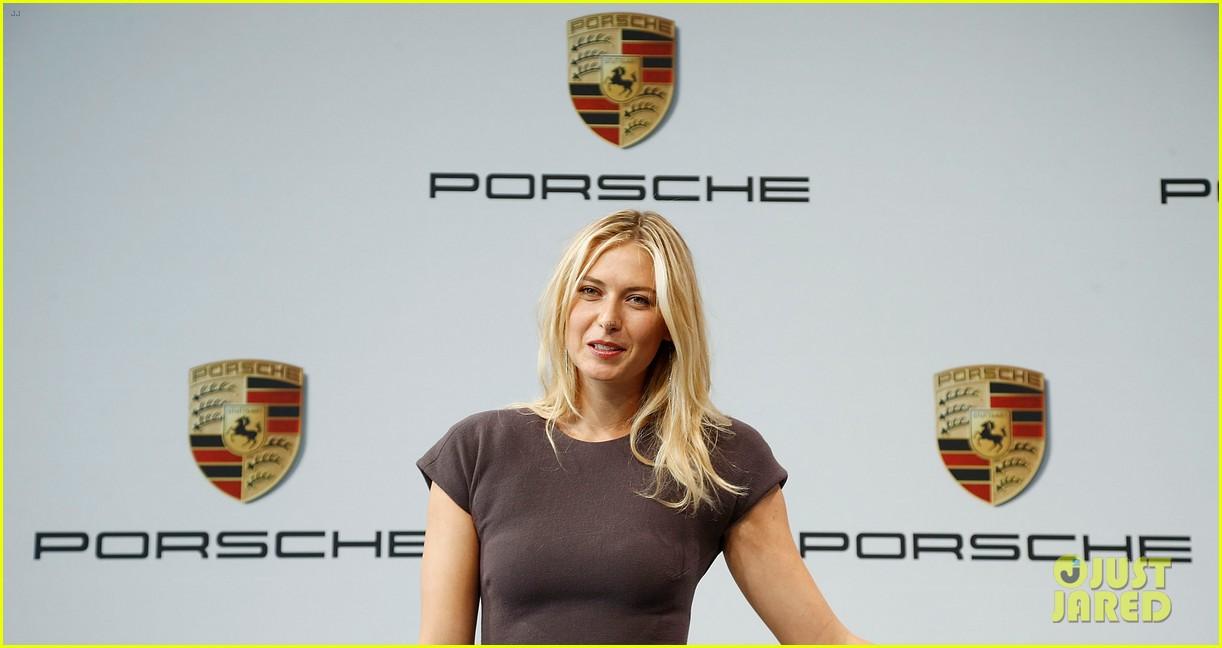 maria sharapova porsche new brand ambassador 14