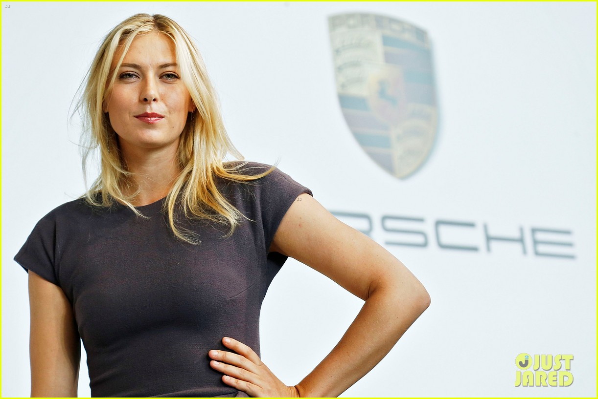 maria sharapova porsche new brand ambassador 152855790