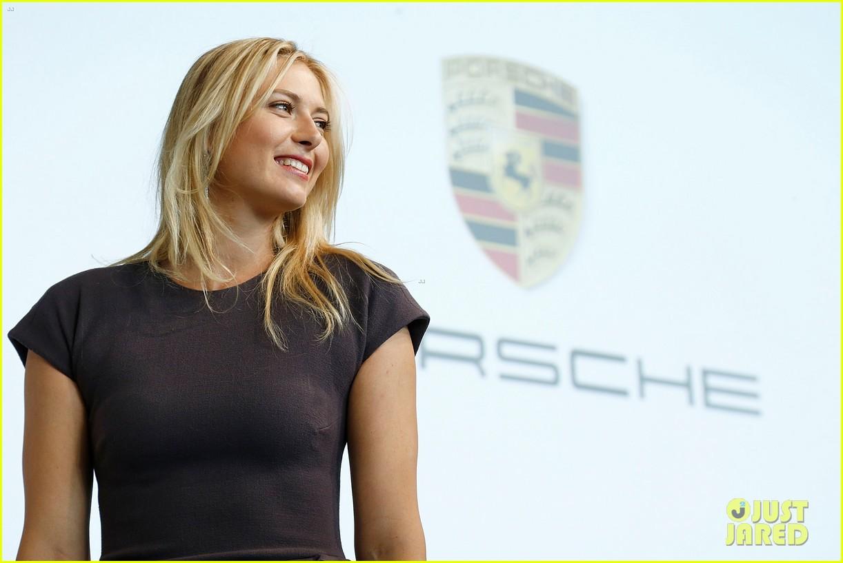 maria sharapova porsche new brand ambassador 162855791
