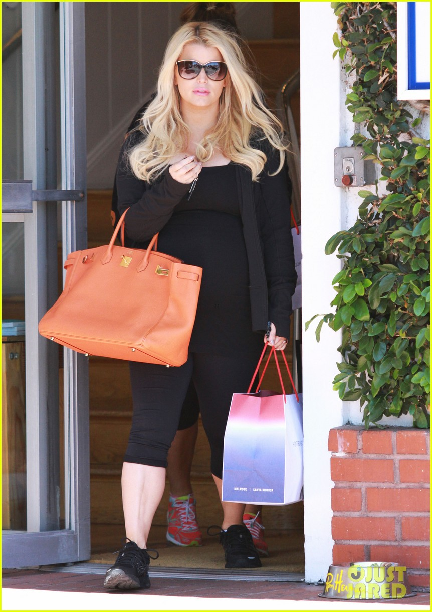 jessica simpson im so excited to have a son 10