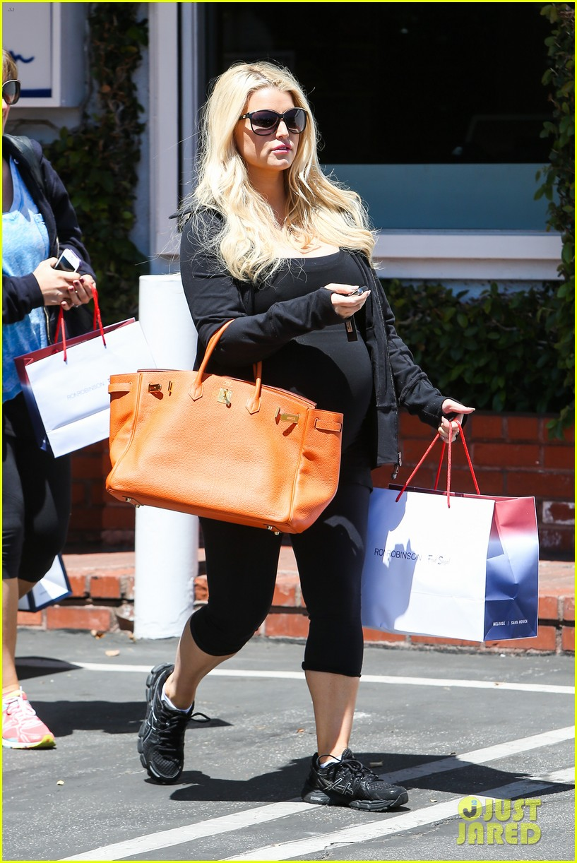jessica simpson im so excited to have a son 142852104