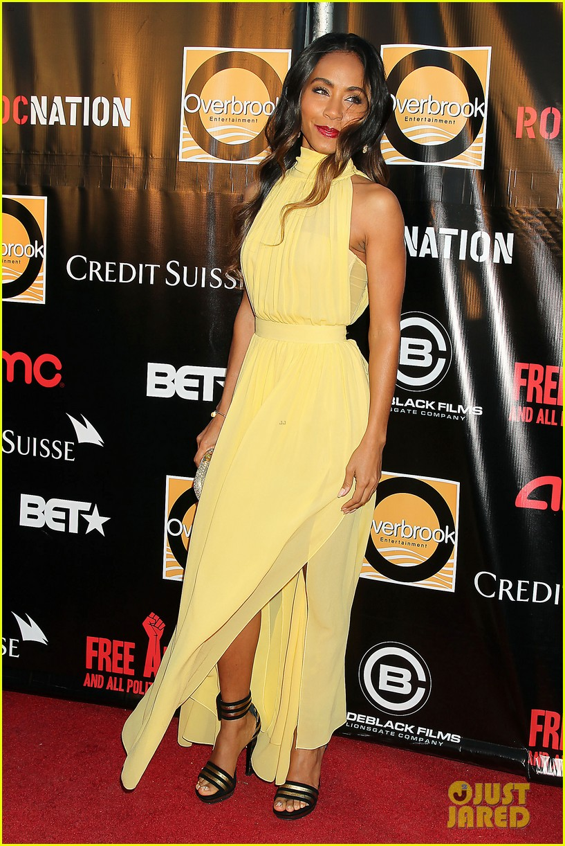 will jada pinkett smith free angela nyc premiere 132842921