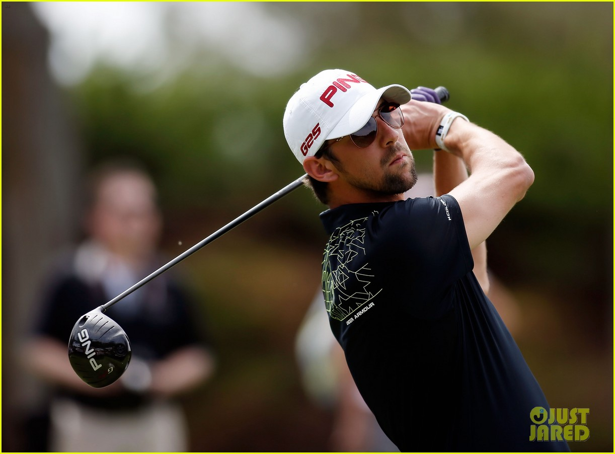 will smith michael phelps celebrity golf tournament 112844706
