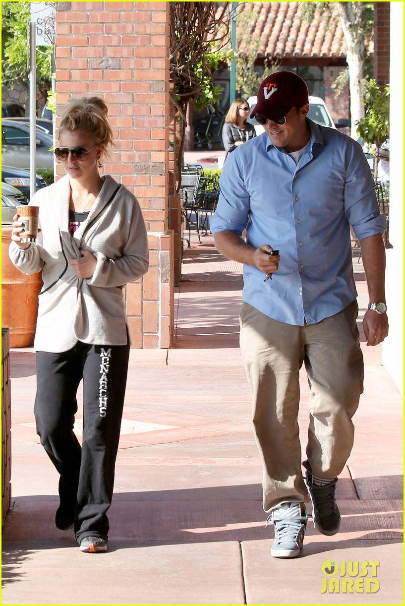 britney spears david lucado breakfast shopping duo 23
