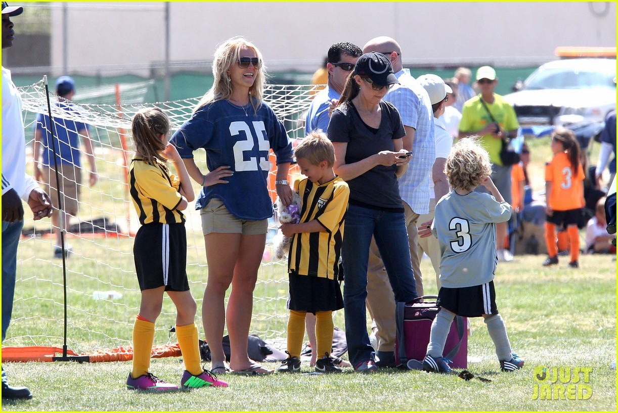 britney spears nails soccer sunday 182855159