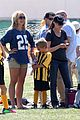 britney spears nails soccer sunday 18