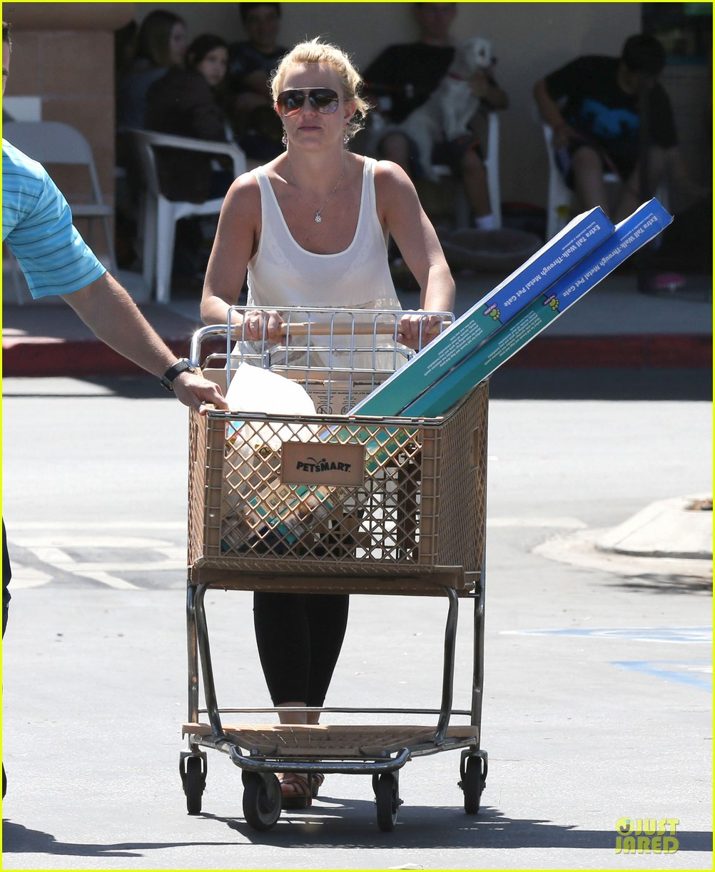 britney spears petsmart pet shopping 142854222