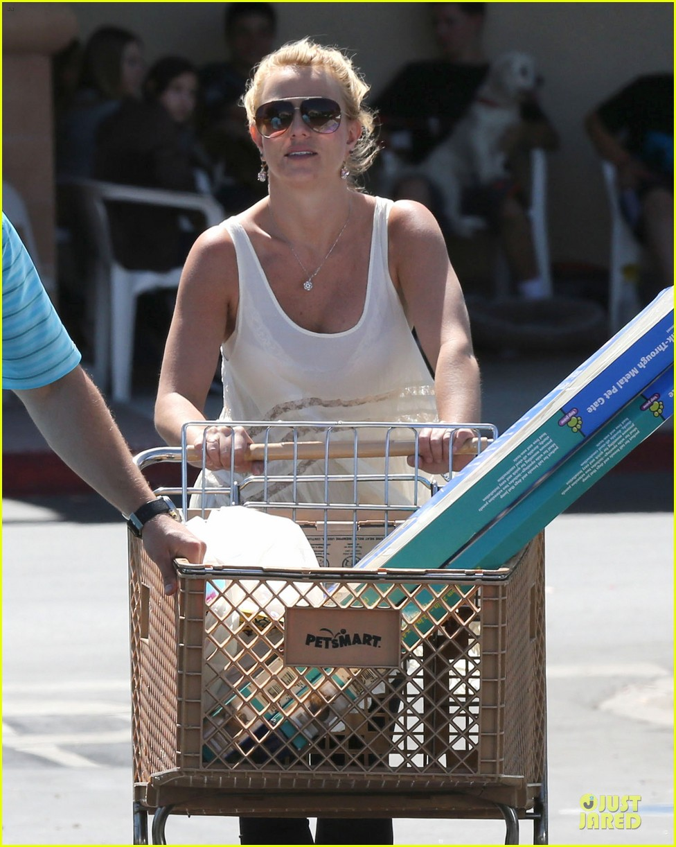 britney spears petsmart pet shopping 15
