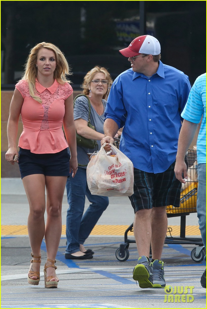 britney spears david lucado saturday ralphs run 132849524