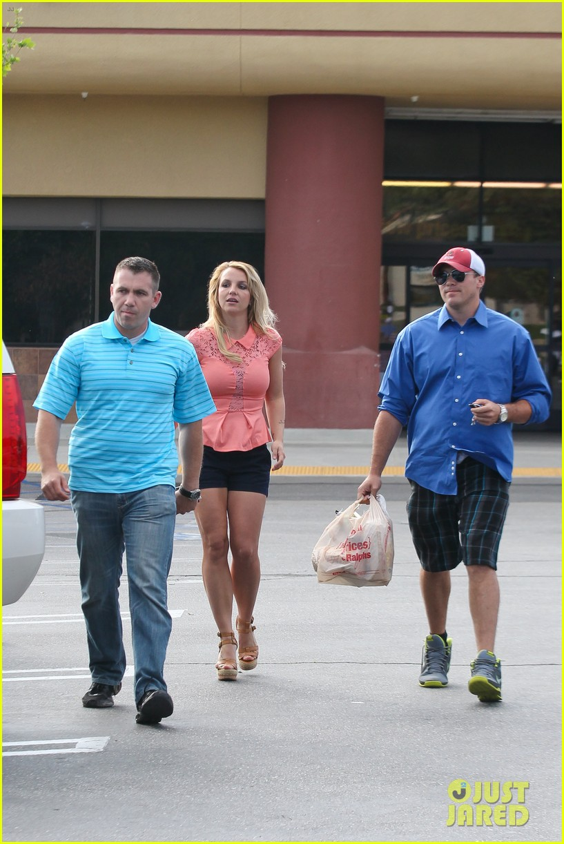 britney spears david lucado saturday ralphs run 182849529