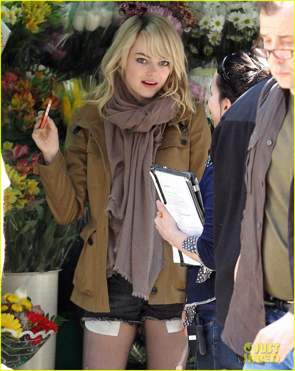 emma stone birdman set in the big apple 052847278