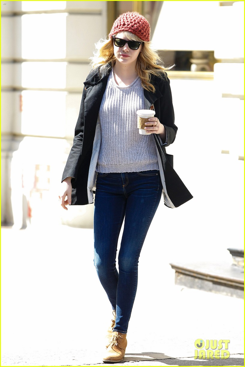 emma stone andrew garfield bubbys coffee couple 10