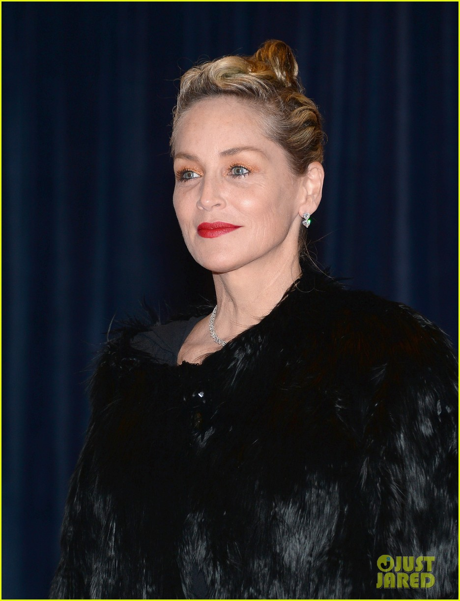 sharon stone white house correspondents dinner 2013 09
