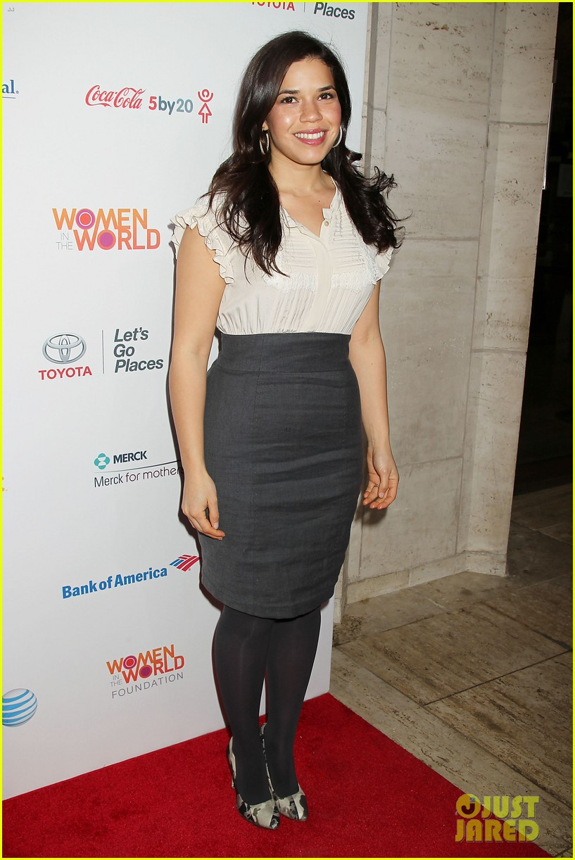 meryl streep america ferrera women in the world gala 102843428