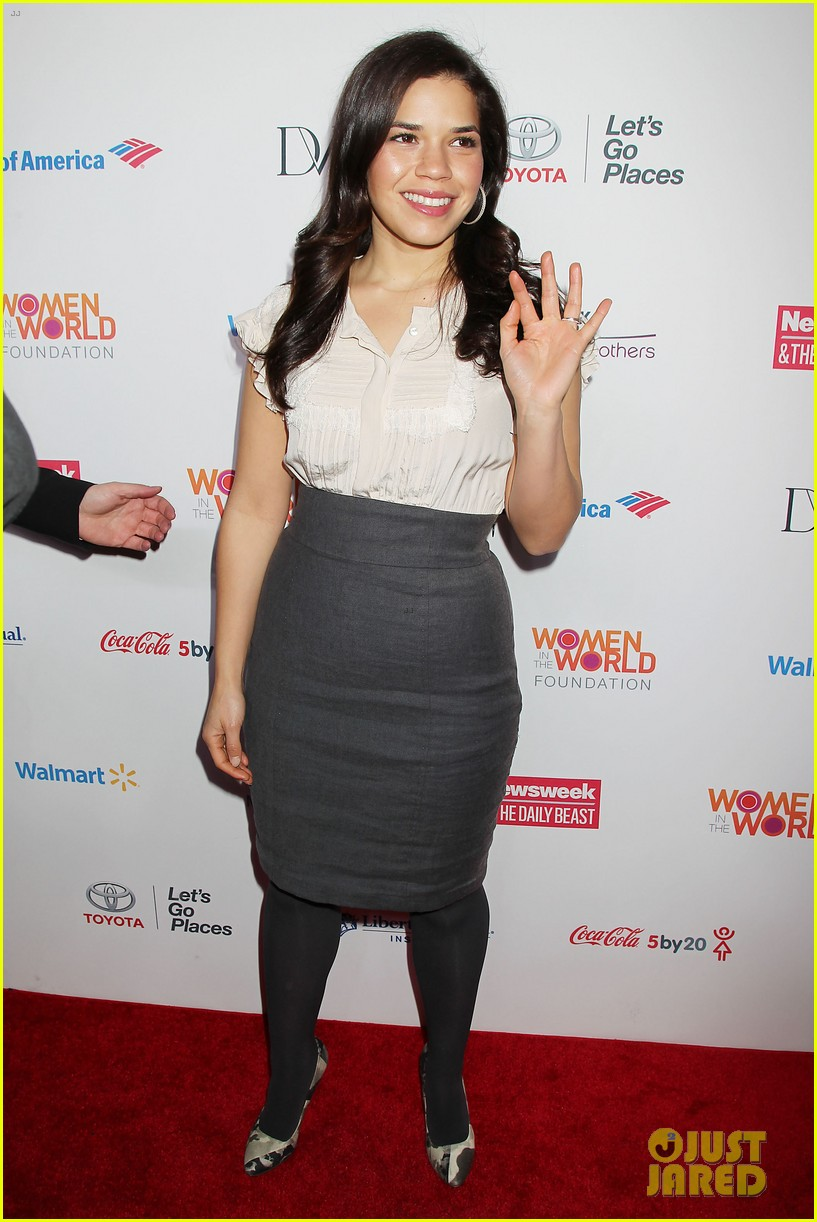 meryl streep america ferrera women in the world gala 13