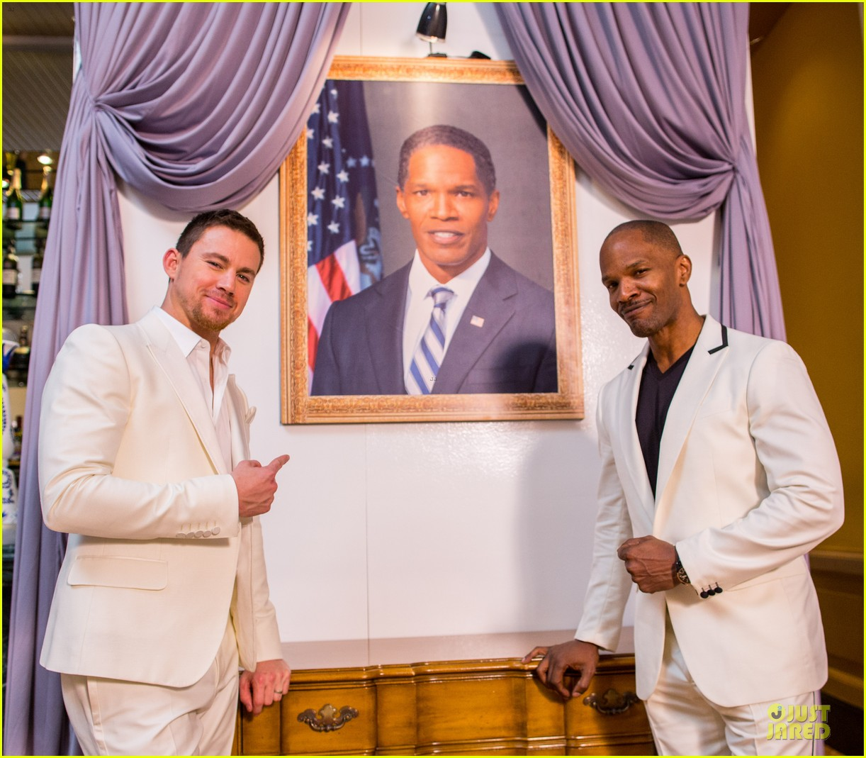 channing tatum jame foxx white house down mexico photo call 152854025